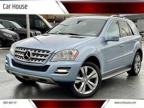 2011 Mercedes-Benz M-Class for sale at Car House in San Mateo CA