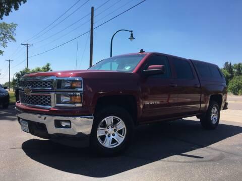2015 Chevrolet Silverado 1500 for sale at Premier Motors LLC in Crystal MN