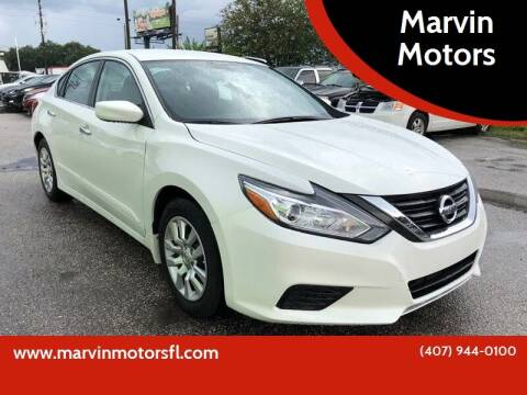 2017 Nissan Altima for sale at Marvin Motors in Kissimmee FL