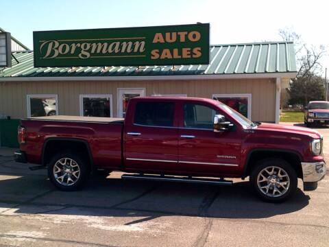 2018 GMC Sierra 1500 for sale at Borgmann Auto Sales in Norfolk NE