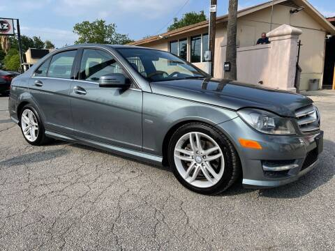 2012 Mercedes-Benz C-Class for sale at Auto A to Z / General McMullen in San Antonio TX