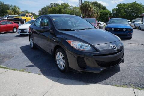 2012 Mazda MAZDA3 for sale at J Linn Motors in Clearwater FL