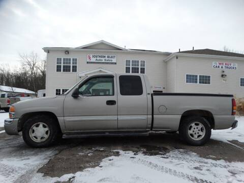 2003 GMC Sierra 1500 for sale at SOUTHERN SELECT AUTO SALES in Medina OH