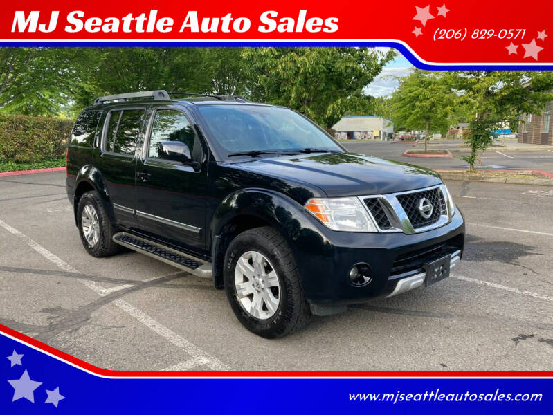 2012 Nissan Pathfinder for sale at MJ Seattle Auto Sales in Kent WA