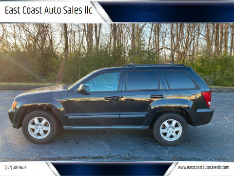 2008 Jeep Grand Cherokee for sale at East Coast Auto Sales llc in Virginia Beach VA