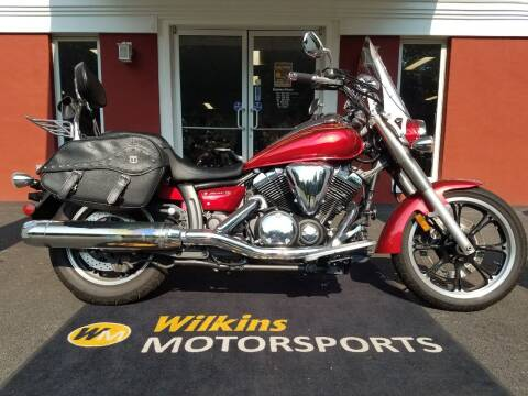 2009 Yamaha V-Star 950 Touring for sale at WILKINS MOTORSPORTS in Brewster NY