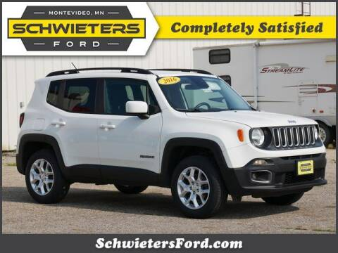 2016 Jeep Renegade for sale at Schwieters Ford of Montevideo in Montevideo MN