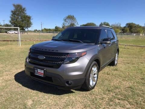 2013 Ford Explorer for sale at LA PULGA DE AUTOS in Dallas TX