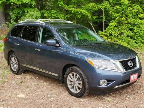 2014 Nissan Pathfinder for sale at Bethel Auto Sales in Bethel ME