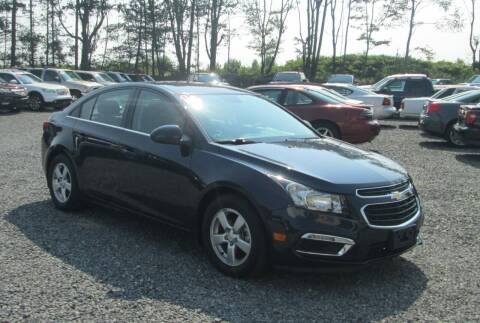 2016 Chevrolet Cruze Limited for sale at Small Town Auto Sales in Hazleton PA