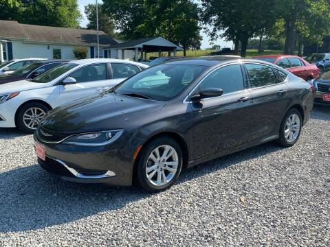 2016 Chrysler 200 for sale at Hill Country Auto Sales in Maynard AR