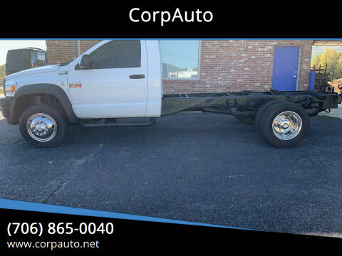 2009 Dodge Ram Chassis 4500 for sale at CorpAuto in Cleveland GA