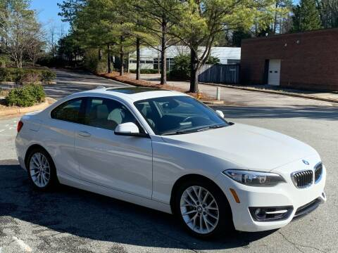 2016 BMW 2 Series for sale at Triangle Motors Inc in Raleigh NC