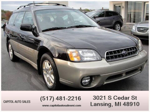 2003 Subaru Outback for sale at Capitol Auto Sales in Lansing MI