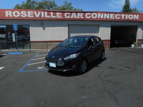 2016 Ford Fiesta for sale at ROSEVILLE CAR CONNECTION in Roseville CA