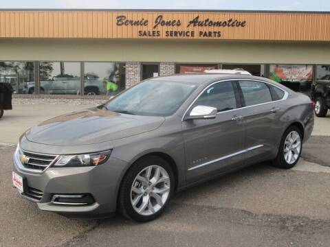 2019 Chevrolet Impala for sale at Bernie Jones Auto in Cambridge NE