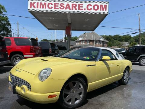 2002 Ford Thunderbird for sale at KIM CESARE AUTO SALES in Pen Argyl PA