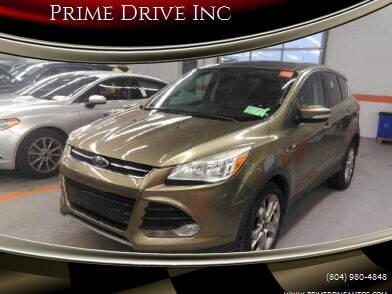2013 Ford Escape for sale at Prime Drive Inc in Richmond VA