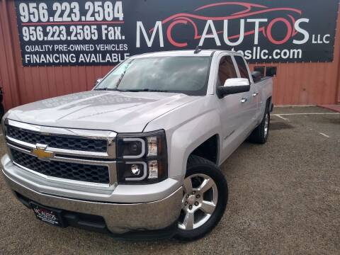 2015 Chevrolet Silverado 1500 for sale at MC Autos LLC in Pharr TX