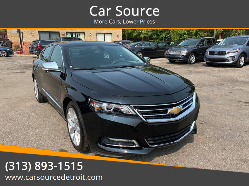 2020 Chevrolet Impala for sale at Car Source in Detroit MI