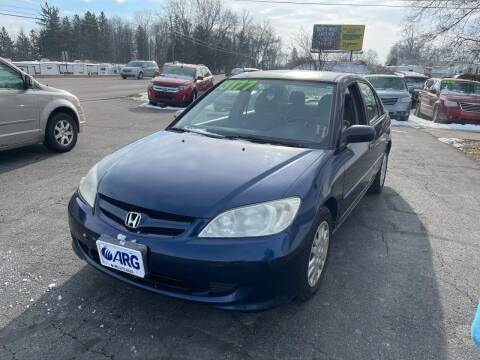 2004 Honda Civic for sale at ARG Auto Sales in Jackson MI