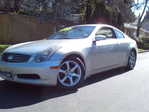 2003 Infiniti G35 for sale at Redline Auto Sales in Vancouver WA