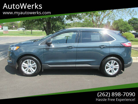 2019 Ford Edge for sale at AutoWerks in Sturtevant WI