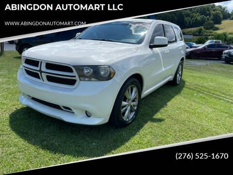 2011 Dodge Durango for sale at ABINGDON AUTOMART LLC in Abingdon VA