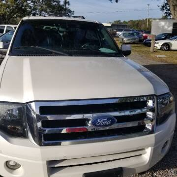 2012 Ford Expedition EL for sale at Webb's Automotive Inc 11 in Morehead City NC