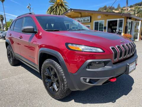 2015 Jeep Cherokee for sale at MISSION AUTOS in Hayward CA