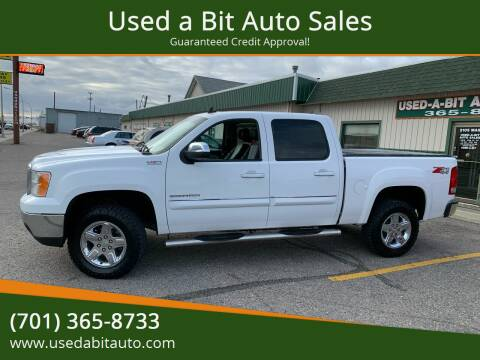 2011 GMC Sierra 1500 for sale at Used a Bit Auto Sales in Fargo ND