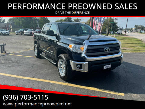 2015 Toyota Tundra for sale at PERFORMANCE PREOWNED SALES in Conroe TX