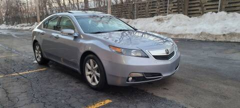 2012 Acura TL for sale at U.S. Auto Group in Chicago IL