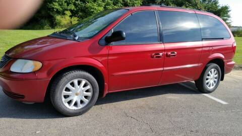2002 Chrysler Town and Country for sale at Superior Auto Sales in Miamisburg OH