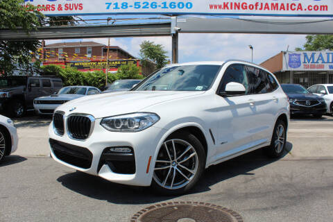 2018 BMW X3 for sale at MIKEY AUTO INC in Hollis NY