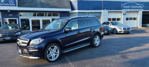2013 Mercedes-Benz GL-Class for sale at Import Autowerks in Portsmouth VA