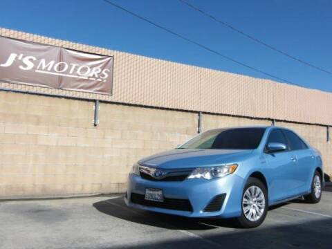 2012 Toyota Camry Hybrid for sale at J'S MOTORS in San Diego CA