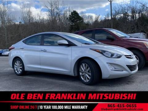 2015 Hyundai Elantra for sale at Ole Ben Franklin Mitsbishi in Oak Ridge TN