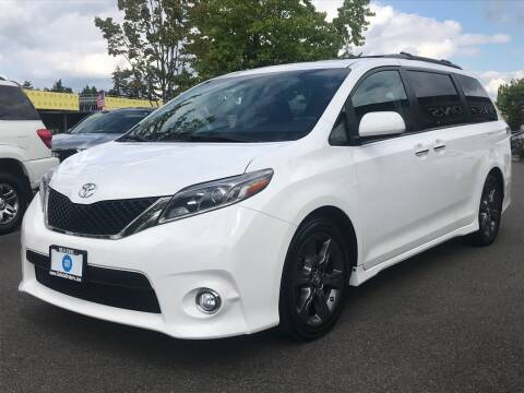 2016 Toyota Sienna for sale at GO AUTO BROKERS in Bellevue WA