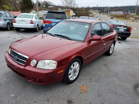 2005 Kia Optima for sale at DISCOUNT AUTO SALES in Johnson City TN