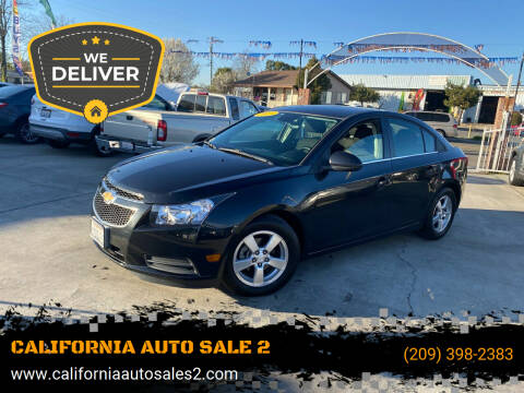 2013 Chevrolet Cruze for sale at CALIFORNIA AUTO SALE 2 in Livingston CA