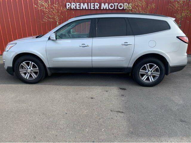 2017 Chevrolet Traverse for sale at Premier Motors in Milton Freewater OR