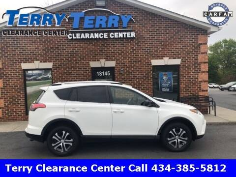 2016 Toyota RAV4 for sale at Terry Clearance Center in Lynchburg VA