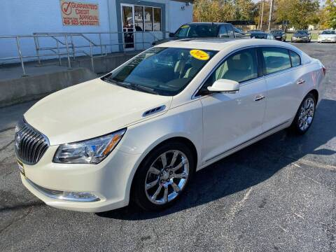 2014 Buick LaCrosse for sale at Huggins Auto Sales in Ottawa OH