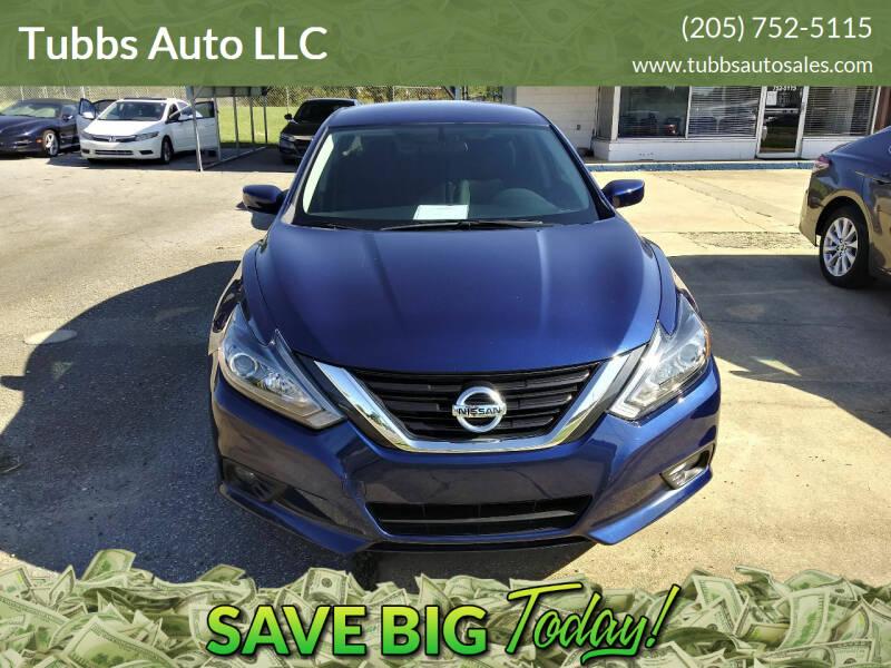 2018 Nissan Altima for sale at Tubbs Auto LLC in Tuscaloosa AL