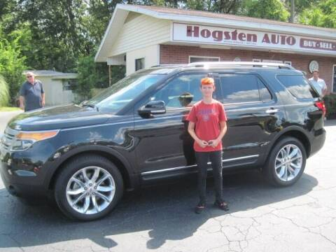 2014 Ford Explorer for sale at HOGSTEN AUTO WHOLESALE in Ocala FL