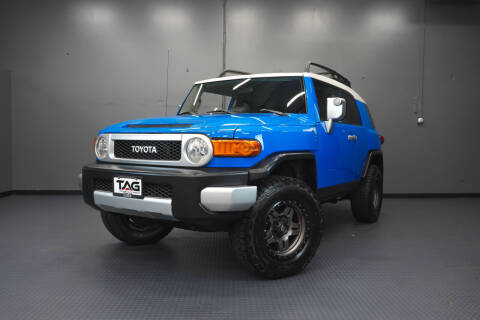 2007 Toyota FJ Cruiser for sale at TOPLINE AUTO GROUP in Kent WA