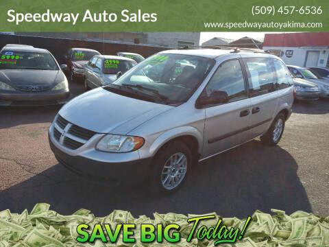 2005 Dodge Caravan for sale at Speedway Auto Sales in Yakima WA