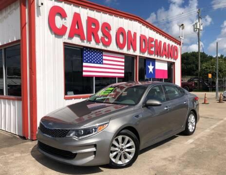 2016 Kia Optima for sale at Cars On Demand 2 in Pasadena TX