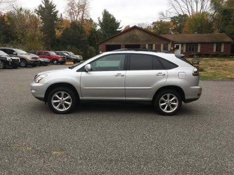 2009 Lexus RX 350 for sale at Lou Rivers Used Cars in Palmer MA